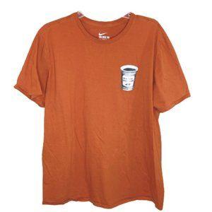 5/$35 Nike Men's Rust Color Tee - XL